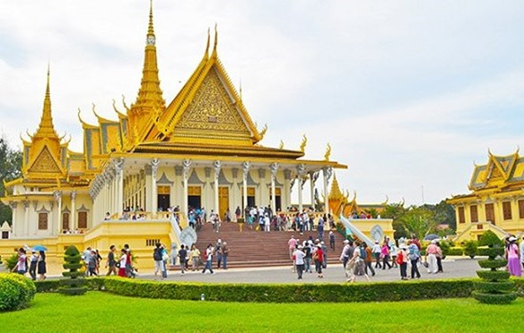 Khám phá Cung điện Hoàng Gia Campuchia - ảnh 5