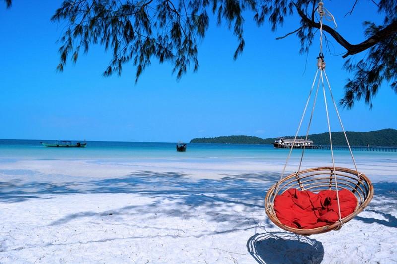 Du lịch Campuchia hè nhất định nên tới thăm những bãi biển đẹp này - ảnh 2