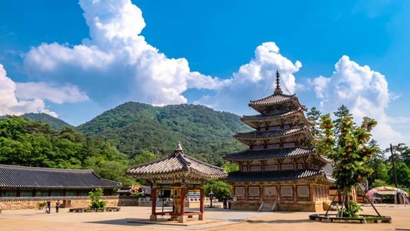 Ngắm kiến trúc độc lạ của các ngôi chùa nổi tiếng ở Hàn Quốc - ảnh 4