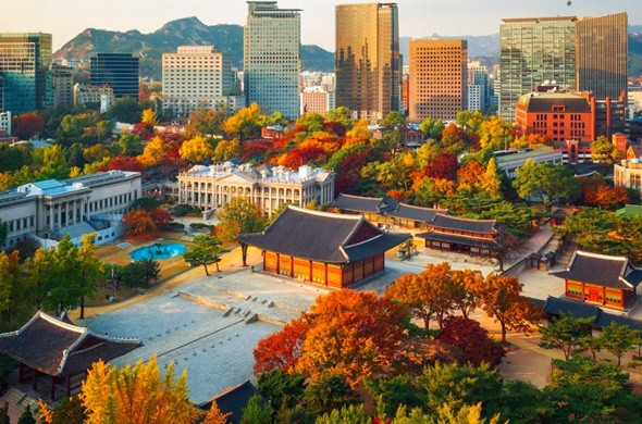 Du lịch Hàn Quốc vào mùa thu