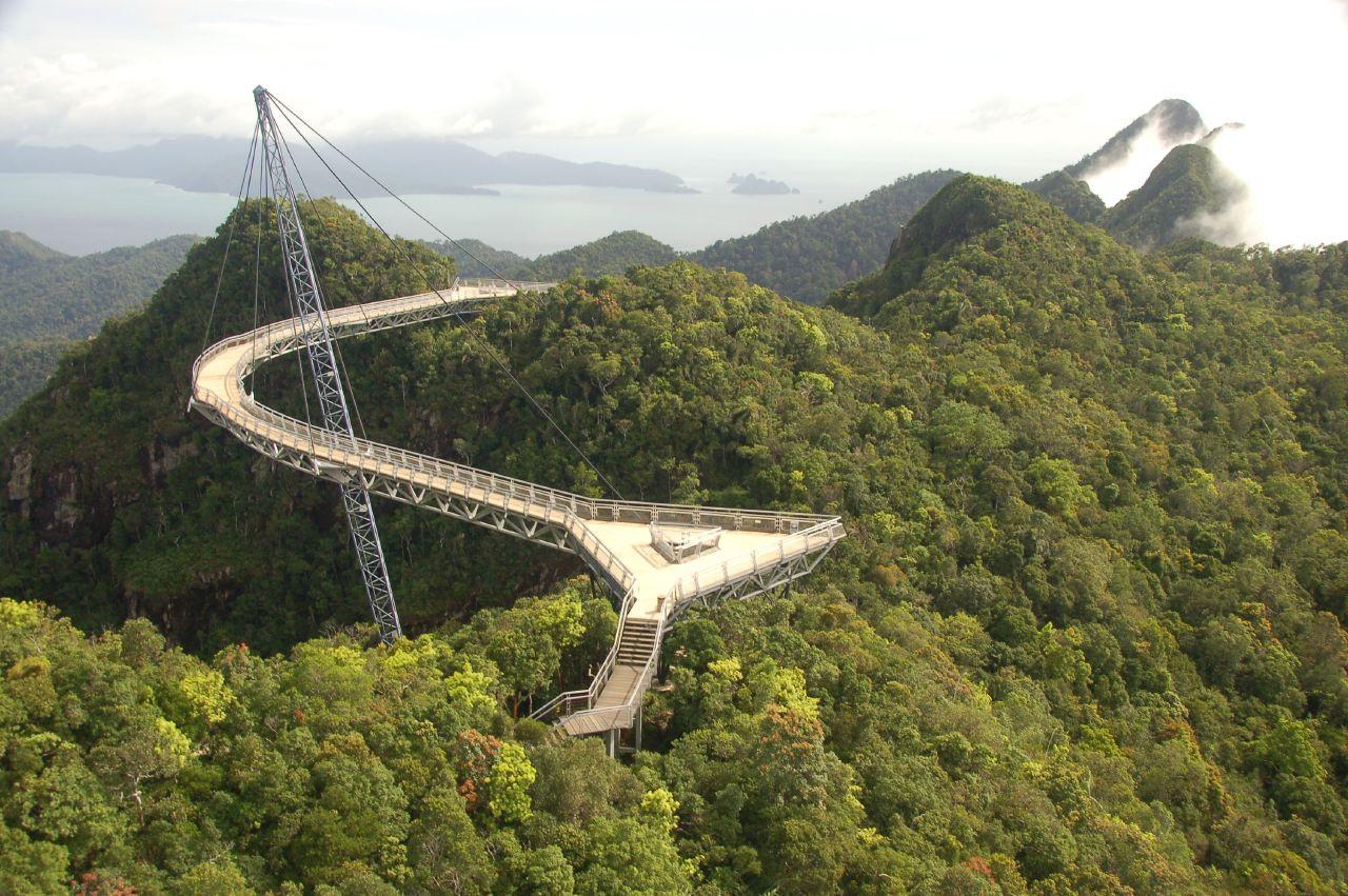 Sky Bridge - du lịch Malaysia