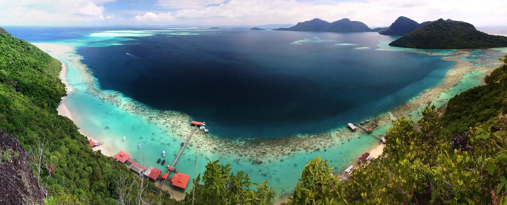 Công viên hải dương Tun Sakaran - du lịch Malaysia