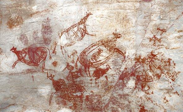 Những hình ảnh độc đáo trên hang động Tambun