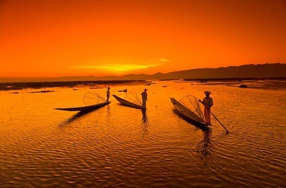 Ngỡ ngàng trước cảnh đẹp hút hồn của hồ Inle Myanmar - ảnh 4
