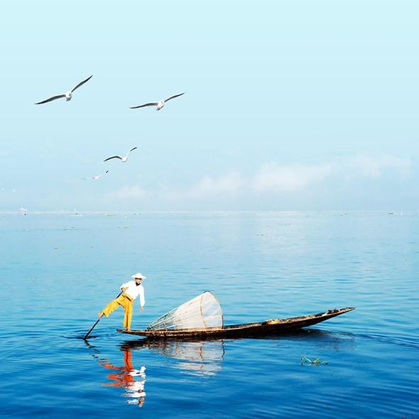 Ngỡ ngàng trước cảnh đẹp hút hồn của hồ Inle Myanmar - ảnh 3