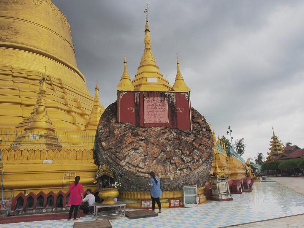 Chiêm ngưỡng ngôi chùa Shwe Maw Daw cao nhất Myanmar - ảnh 3