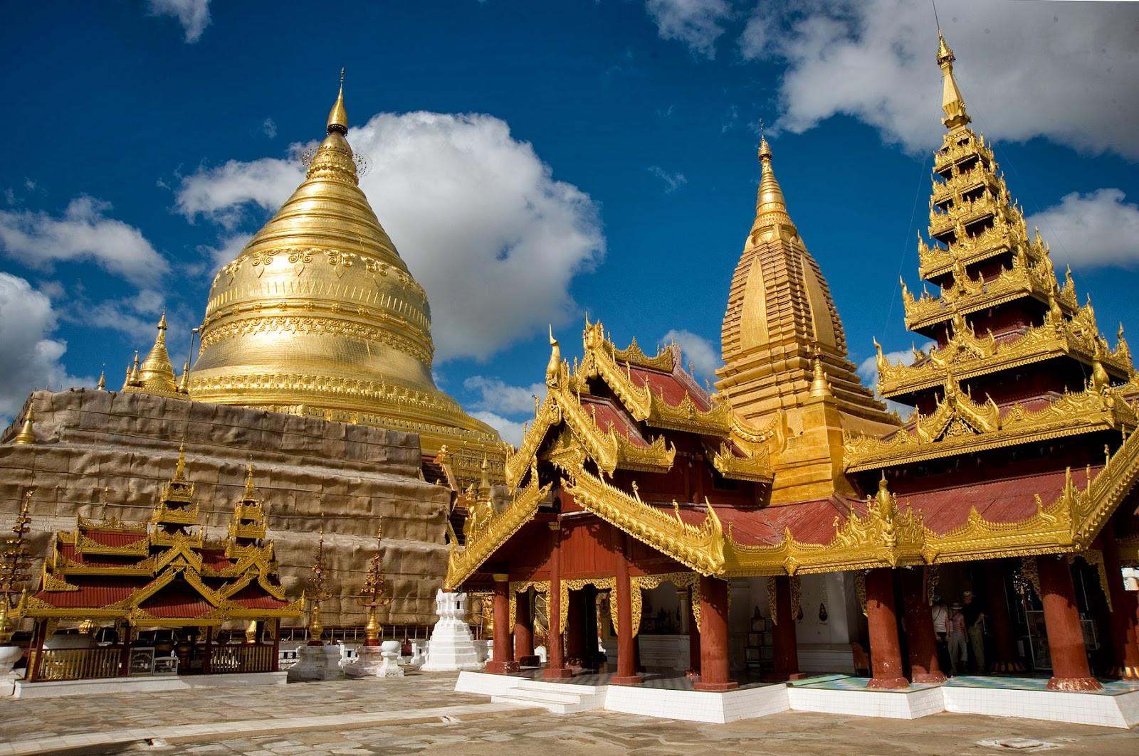 Chiêm ngưỡng ngôi chùa Shwe Maw Daw cao nhất Myanmar - ảnh 6