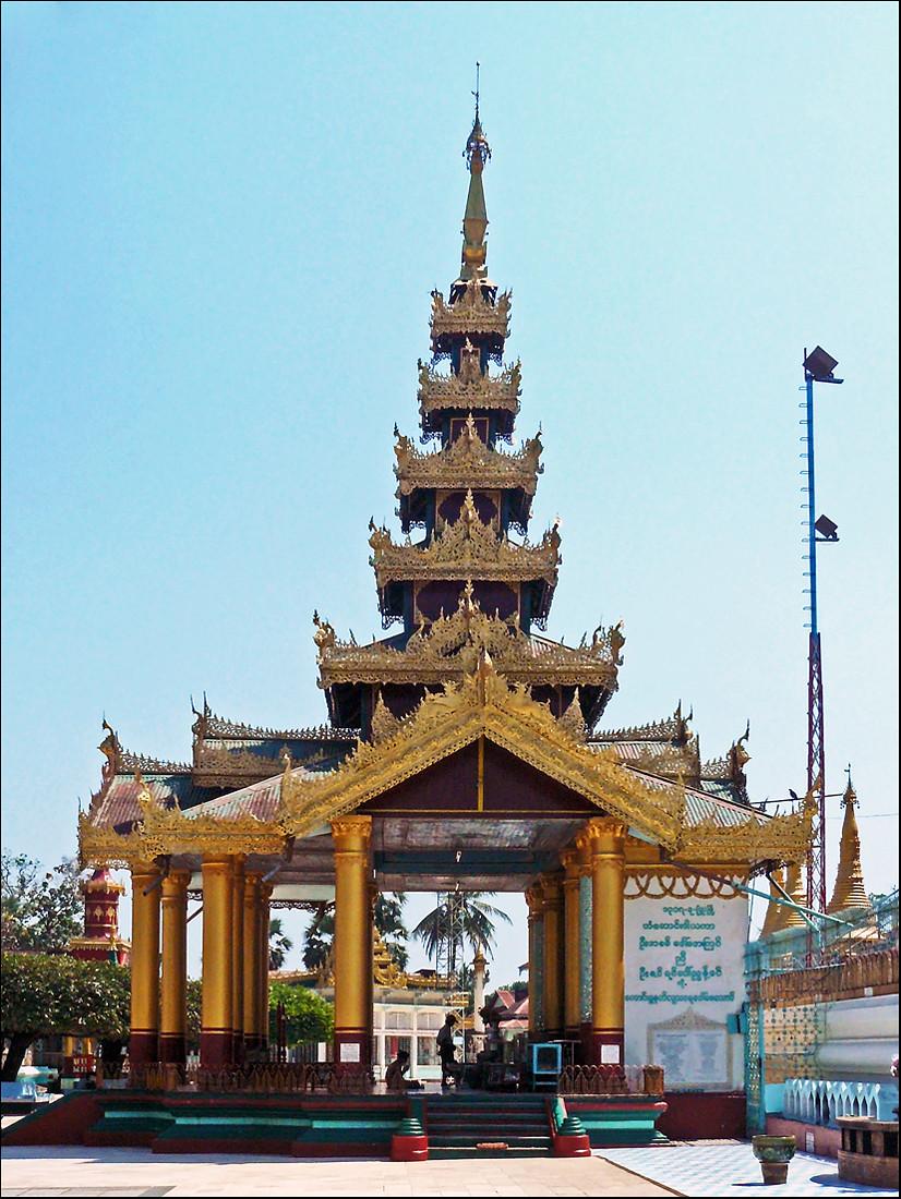 Chiêm ngưỡng ngôi chùa Shwe Maw Daw cao nhất Myanmar - ảnh 7