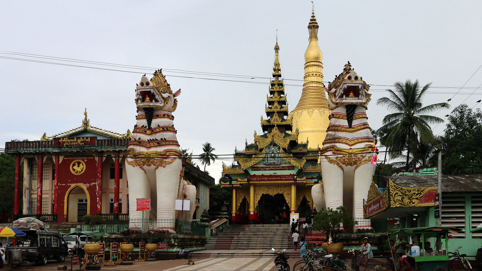 Chiêm ngưỡng ngôi chùa Shwe Maw Daw cao nhất Myanmar - ảnh 9