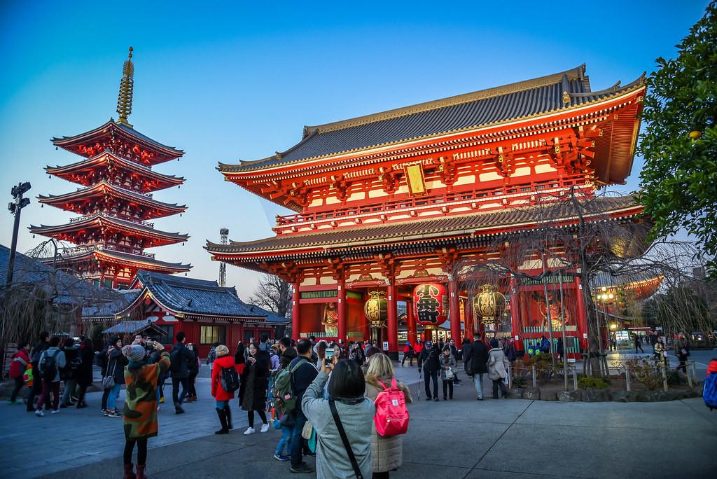 Khám phá đền cổ Asakusa Kannon Nhật Bản -  Ảnh 2