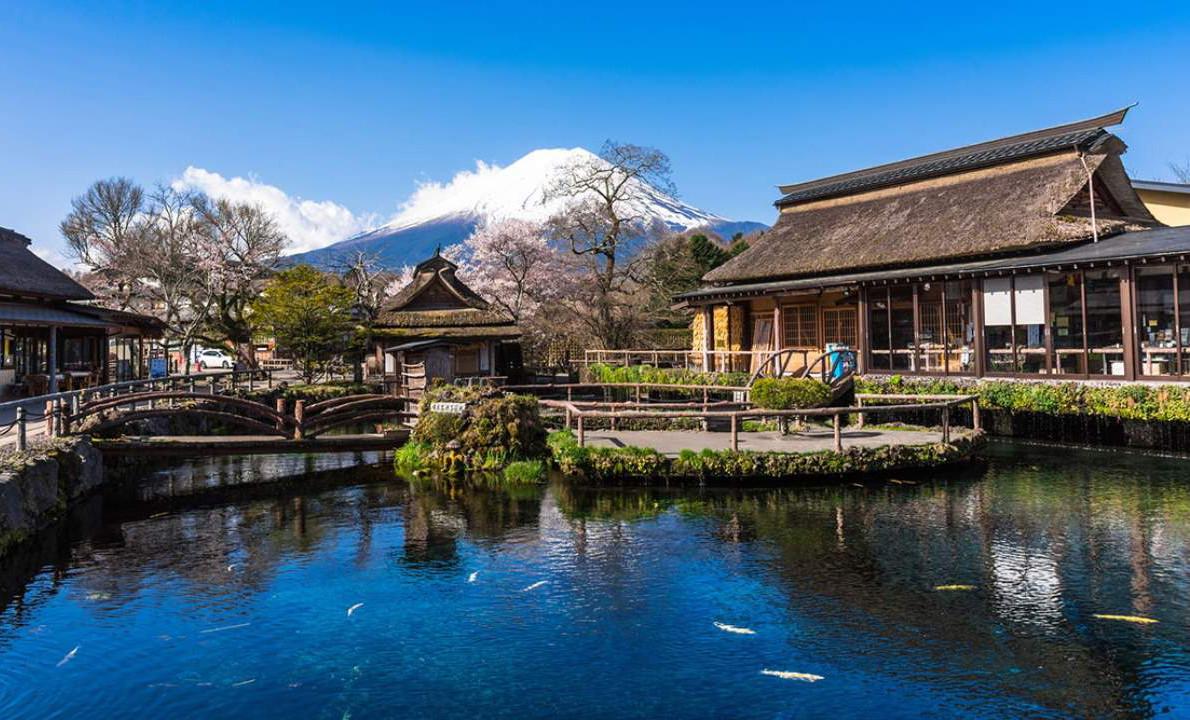 Khám phá làng cổ Oshino Hakkai dưới chân núi Phú Sĩ - ảnh 4