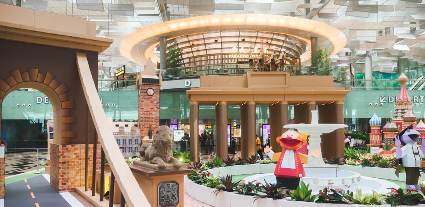 Khám phá sân bay tuyệt vời nhất thế giới - Sân bay Changi - ảnh 5