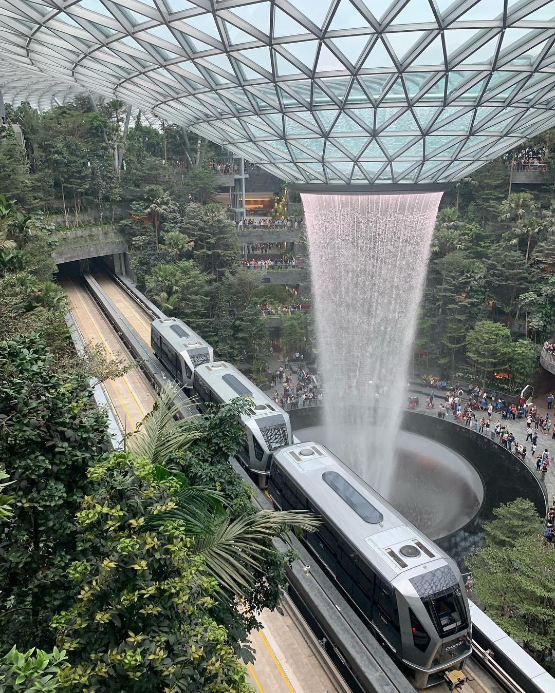 Khám phá sân bay tuyệt vời nhất thế giới - Sân bay Changi - ảnh 7
