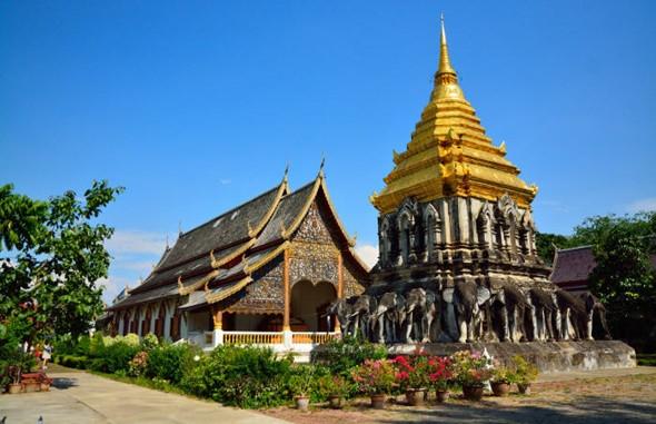 Những Điểm Tham Quan Không Nên Bỏ Qua Tại Chiang Mai - Ảnh chùa Chiang Man