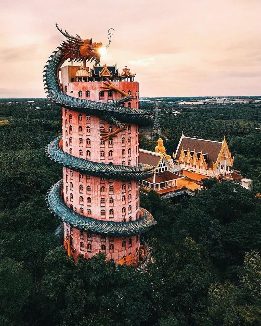 Chùa Wat Samphran Thái Lan - ảnh 6