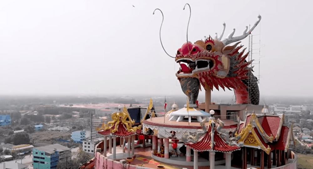 Chùa Wat Samphran Thái Lan - ảnh 8