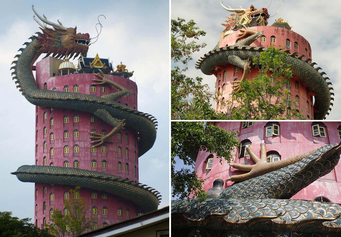 Chùa Wat Samphran Thái Lan - ảnh 1