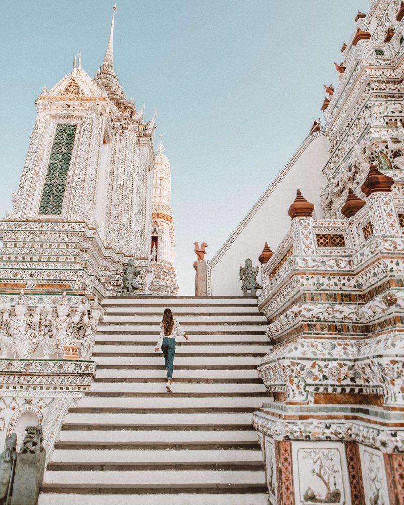Ngất ngây trước kiến trúc độc đáo của chùa Wat Arun - ảnh 2