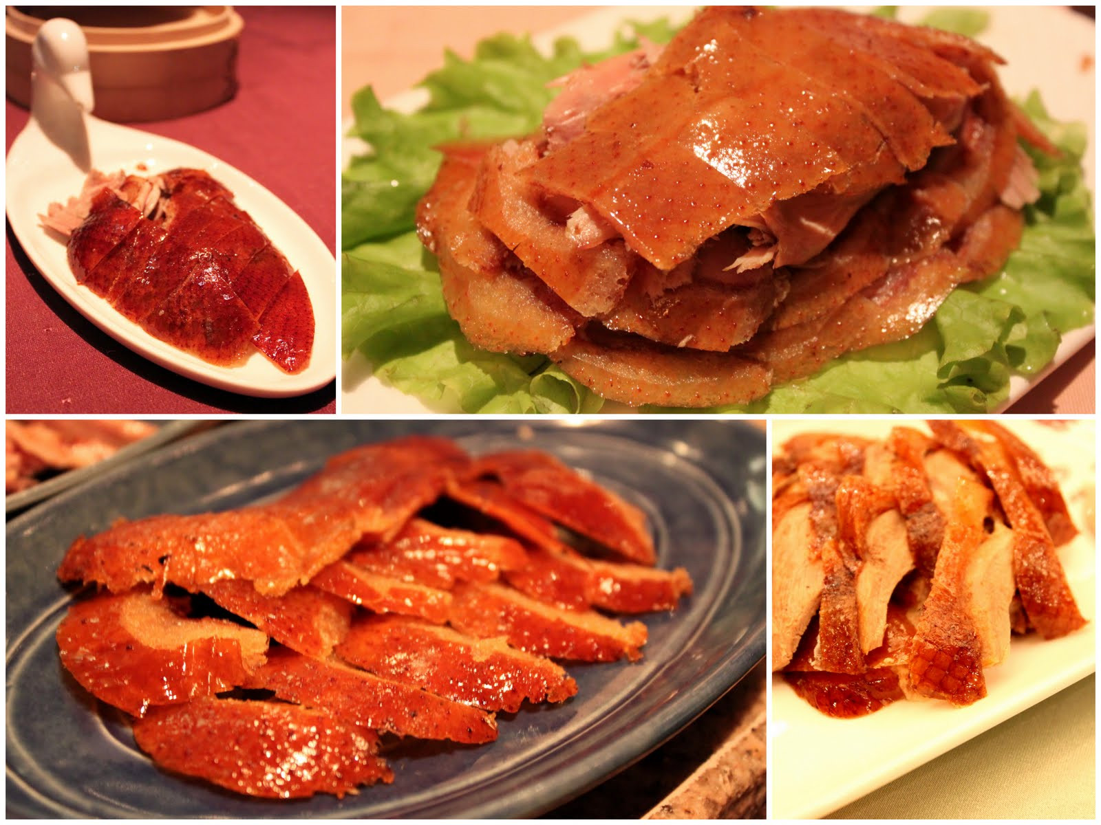 Món ăn Trung Quốc - Vịt quay Bắc Kinh - ảnh 2