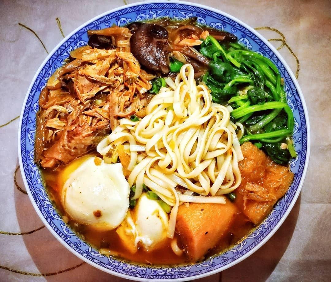 Món ăn Trung Quốc - Mì Trường Thọ