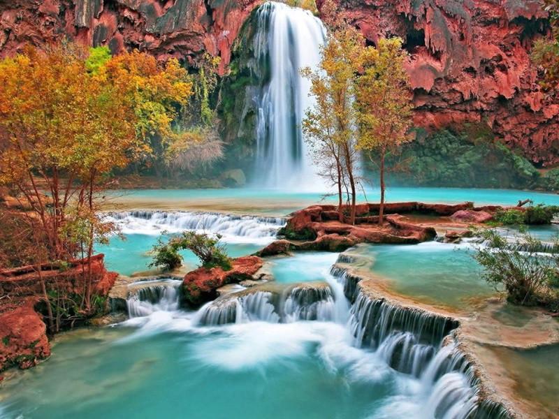 """Khám phá vẻ đẹp mê hồn của """"vườn địa đàng"""" Cửu Trại Câu - ảnh 1"""