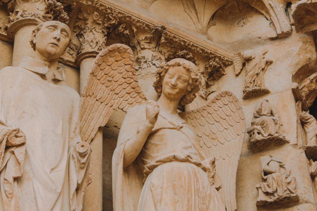 Khám phá nhà thờ Đức Bà Reims đẹp nhất nước Pháp - ảnh 3