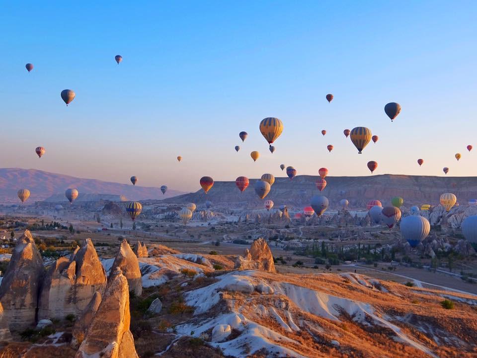 Khinh khí cầu Cappadocia ở Thổ Nhĩ Kỳ - ảnh 3