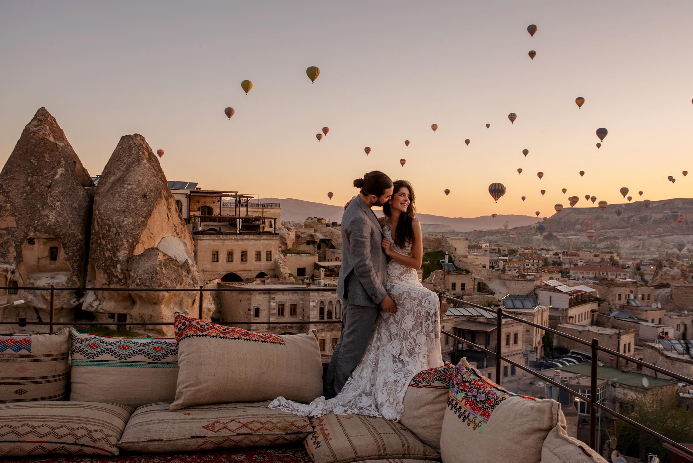 Khinh khí cầu Cappadocia ở Thổ Nhĩ Kỳ - ảnh 5