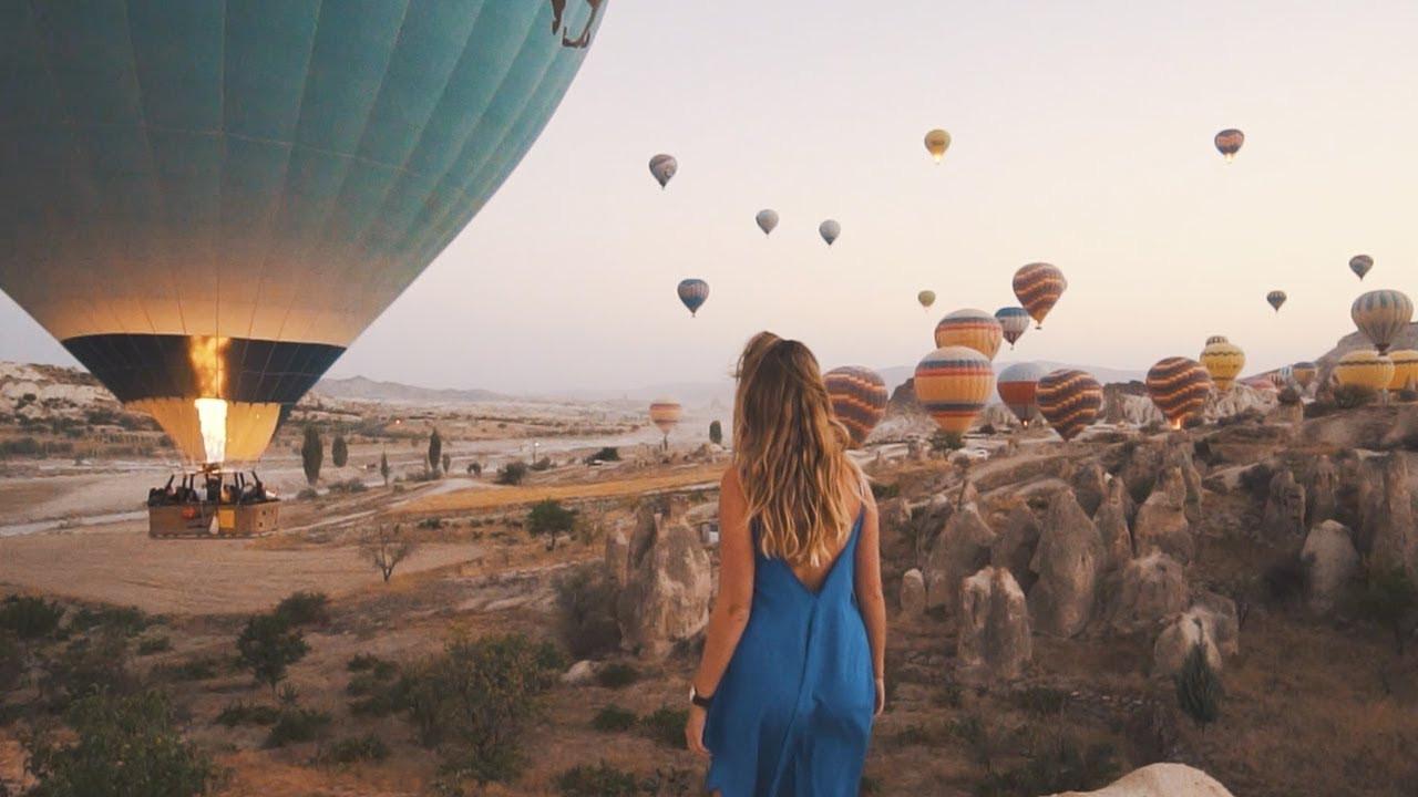 Khinh khí cầu Cappadocia ở Thổ Nhĩ Kỳ - ảnh 6