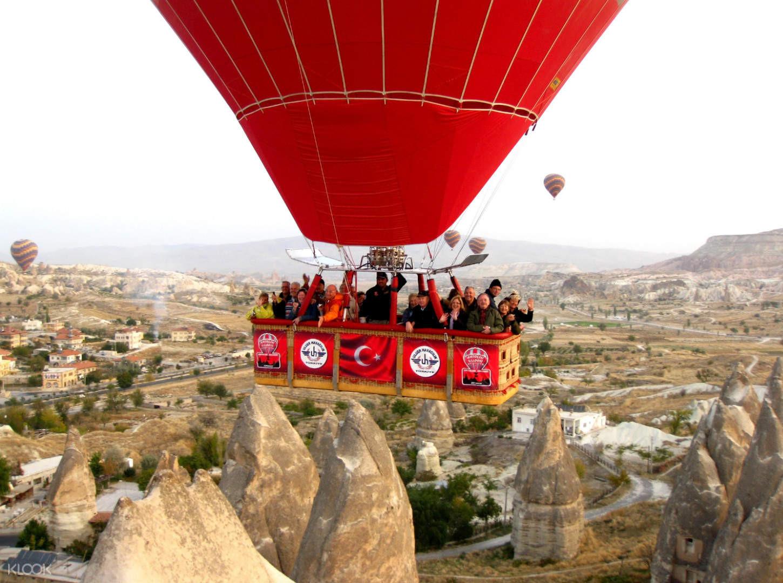 Khinh khí cầu Cappadocia ở Thổ Nhĩ Kỳ - ảnh 7
