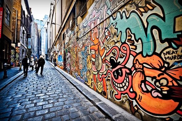 Khám phá bảo tàng nghệ thuật ngoài trời Graffiti tại Melbourne - ảnh 3