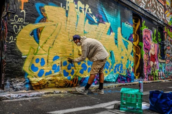 Khám phá bảo tàng nghệ thuật ngoài trời Graffiti tại Melbourne - ảnh 4