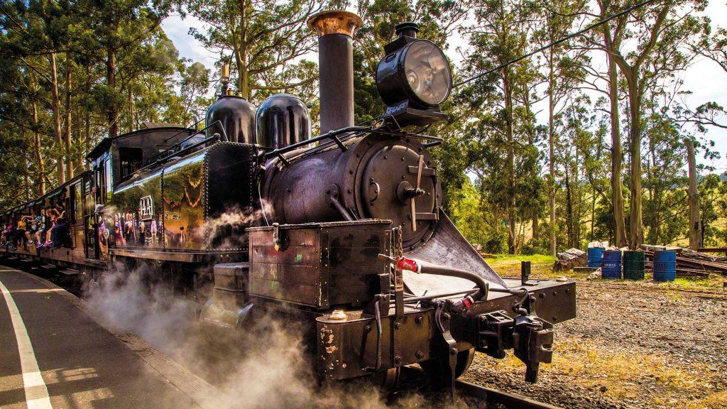 Khám phá toàn cảnh vẻ đẹp Úc từ tàu hơi nước Puffing Billy - ảnh 7
