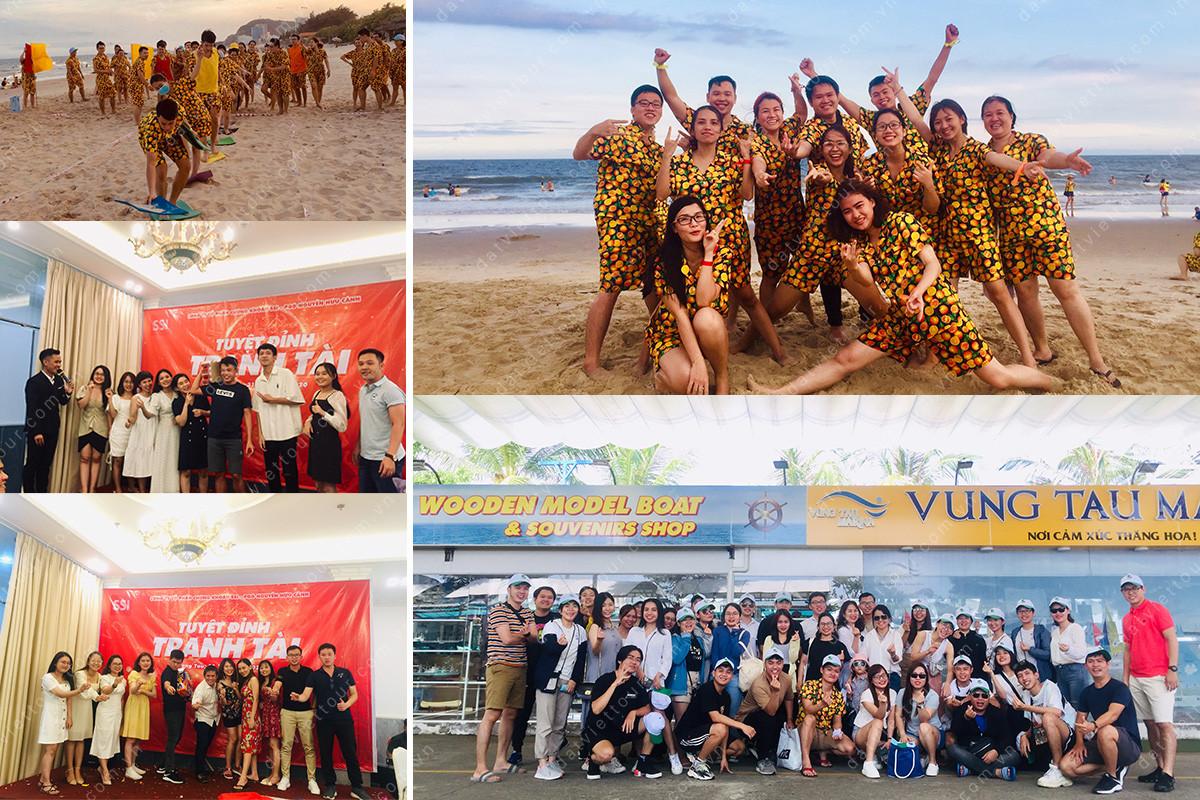 Công ty Chứng khoán SSI tổ chức du lịch team building tại Vũng Tàu, tháng 10/2020 - ảnh 1
