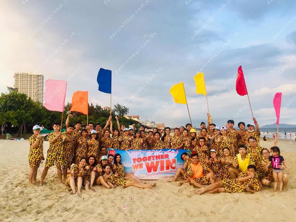 Công ty Chứng khoán SSI tổ chức du lịch team building tại Vũng Tàu, tháng 10/2020 - ảnh 2