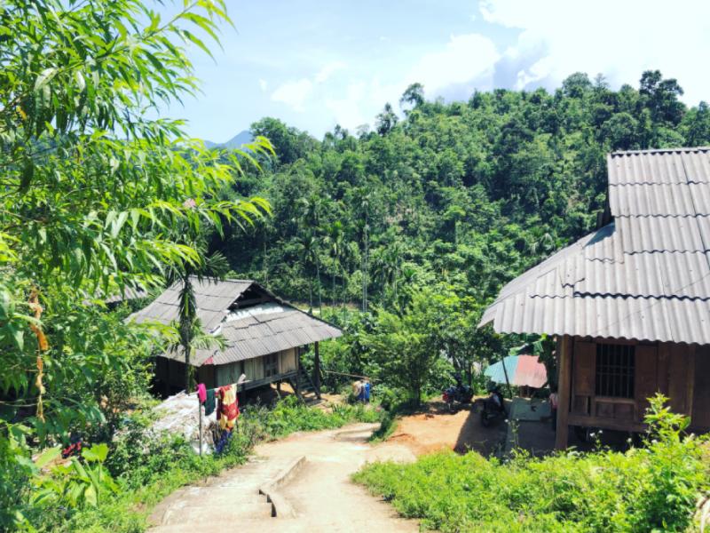Một góc nhìn khác tại làng Thái Cổ Mường Đán