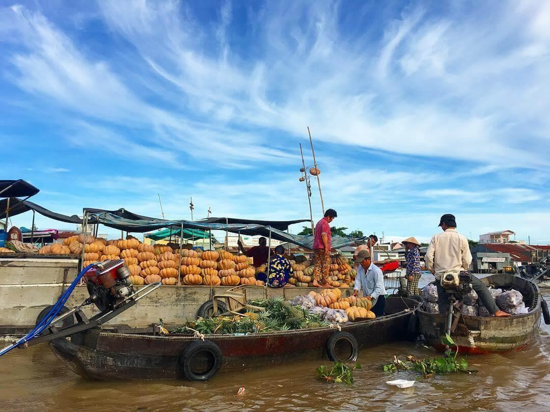 Tận hưởng vẻ đẹp bình yên của hai khu chợ nổi miền Tây - ảnh 4