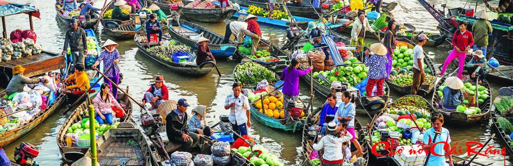 Tận hưởng vẻ đẹp bình yên của hai khu chợ nổi miền Tây - ảnh 7