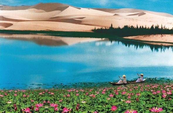 Kinh nghiệm du lịch Bàu Trắng Mũi Né - ảnh 1