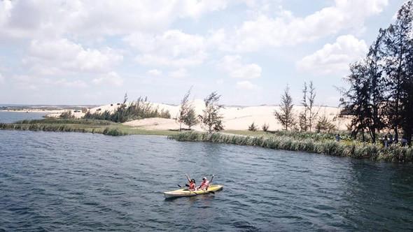 Kinh nghiệm du lịch Bàu Trắng Mũi Né - ảnh 5
