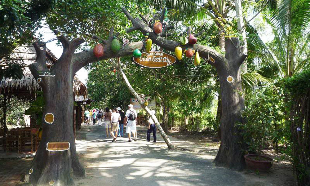"""Có gì tại vườn trái cây Mỹ Khánh mà khiến du khách """"đắm say"""" đến vậy? - ảnh 2"""