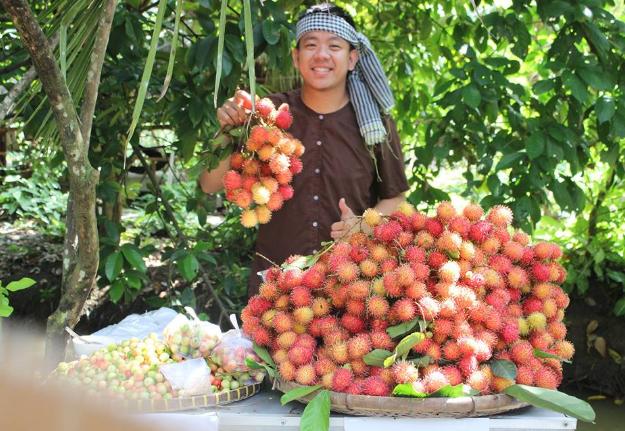 """Có gì tại vườn trái cây Mỹ Khánh mà khiến du khách """"đắm say"""" đến vậy? - ảnh 3"""