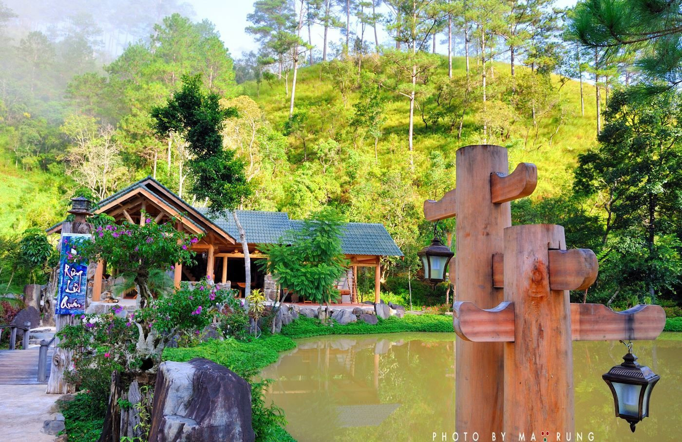 Quán cà phê ở Đà Lạt siêu lãng mạn - Ma Rừng Lữ Quán - ảnh 3