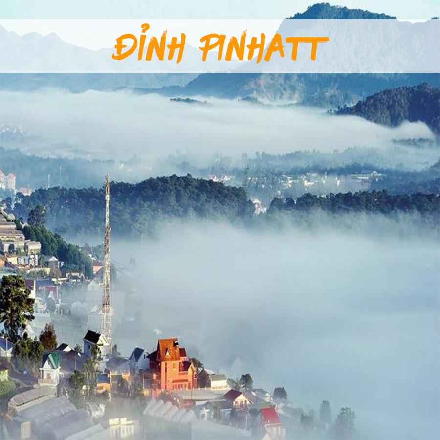 Điểm săn mây Đà Lạt vô cùng đẹp - Đỉnh Pinhatt