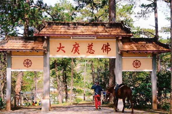 Những ngôi chùa nổi tiếng ở Đà Lạt - Chùa Thiên Vương Cổ Sát