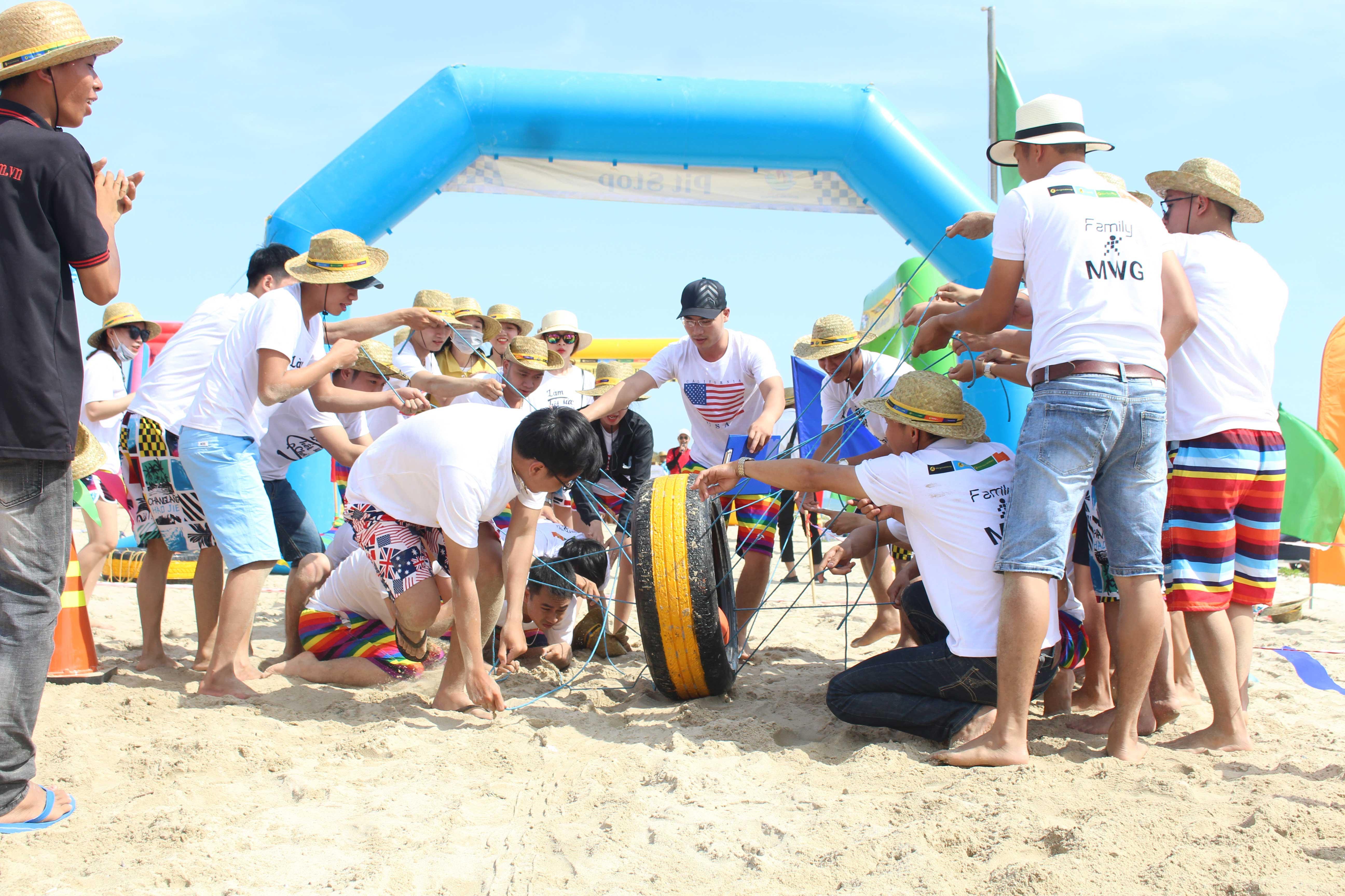 Lựa chọn công ty tổ chức team building tại Hà Nội