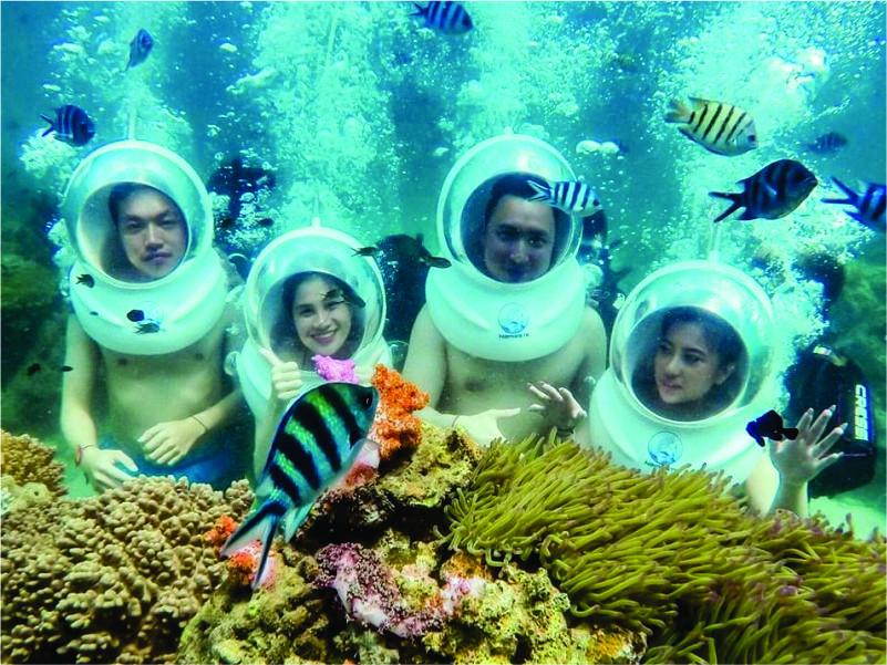 du lịch Phú Quốc lặn biển ngắm san hô