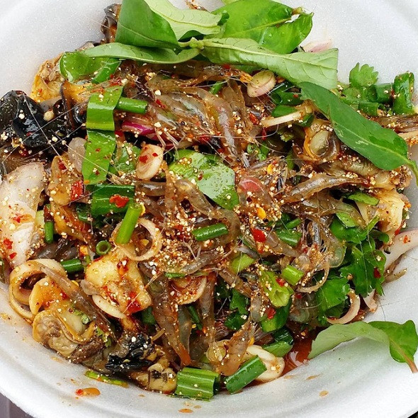 Goong Ten - ẩm thực thách thức sự can đảm khách đến Thái Lan - ảnh 3