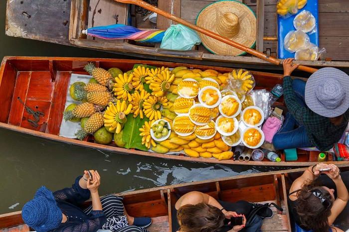 Chợ nổi bốn miền Pattaya – điểm đến lạc lối dịp lễ 30.4 này - Những món ăn hấp dẫn tại chợ