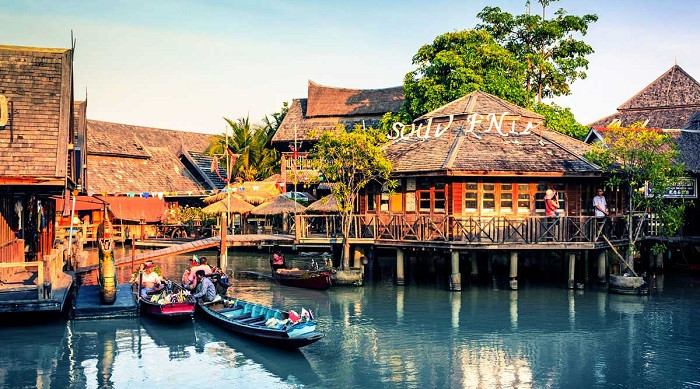 Chợ nổi bốn miền Pattaya – điểm đến lạc lối dịp lễ 30.4 này